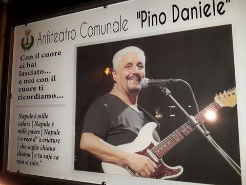 Anfiteatro comunale di Baronissi intitolato a Pino Daniele - aSalerno.it