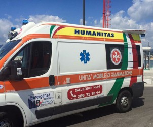 incidente ambulanza humanitas 5