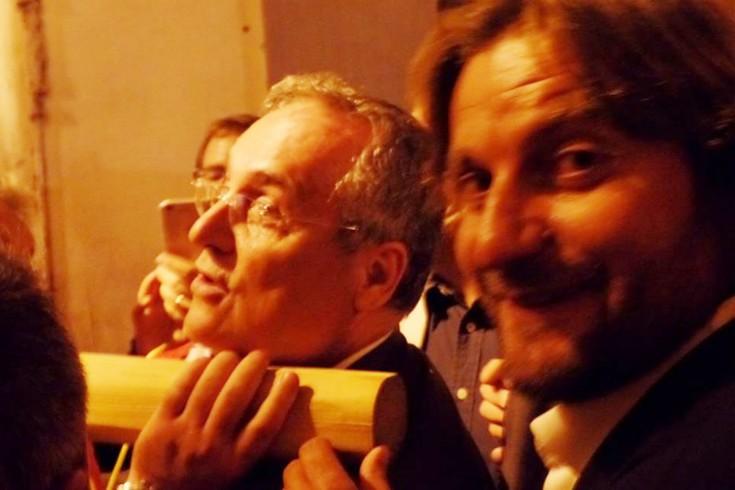 In processione Lotito portatore – LA FOTO - aSalerno.it