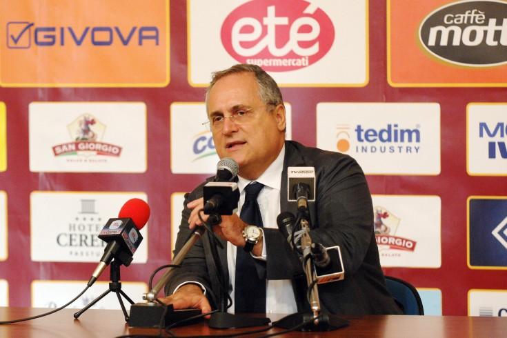 """Lotito: """"La squadra è venuta fuori, ci aspettano soddisfazioni"""" - aSalerno.it"""