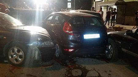 Montercorvino Pugliano,maxi incidente sulla nazionale,tre feriti - aSalerno.it