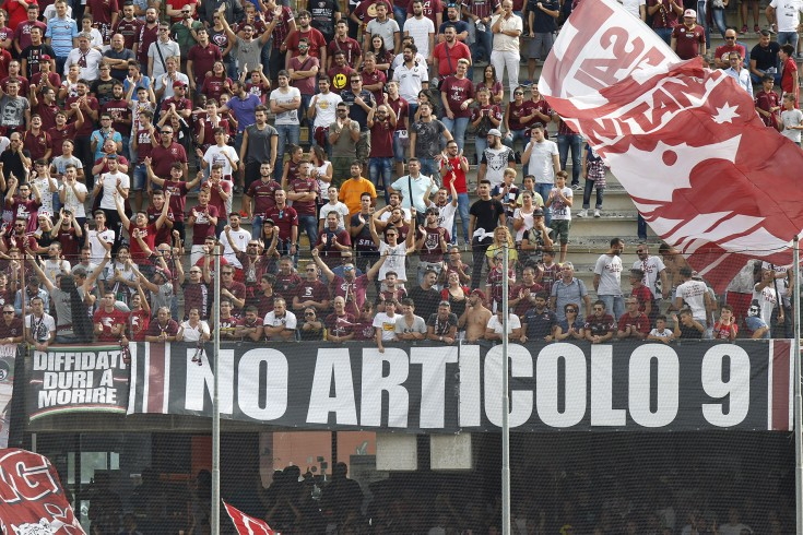 Salernitana-Casertana, revocato il Daspo a 5 ultras granata - aSalerno.it