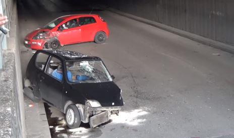 Sarno, grave incidente nel sottopasso di corso Vittorio Emanuele - aSalerno.it