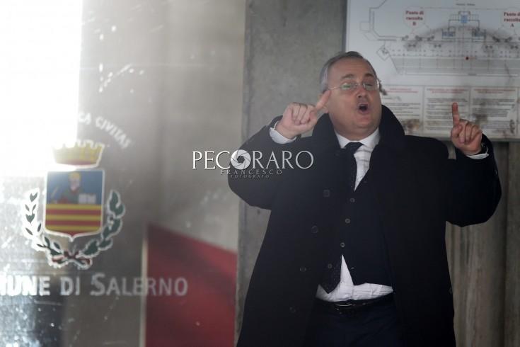 """Lotito: """"La squadra migliora, il momento negativo passerá"""". - aSalerno.it"""