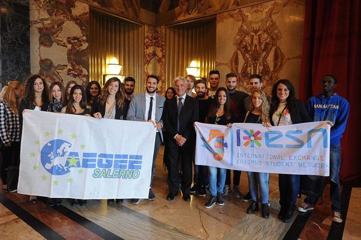 Ragazzi del programma Erasmus a Salerno, partono le visite in città - aSalerno.it
