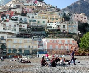 Salerno : Frana Positano (Foto Tanopress)