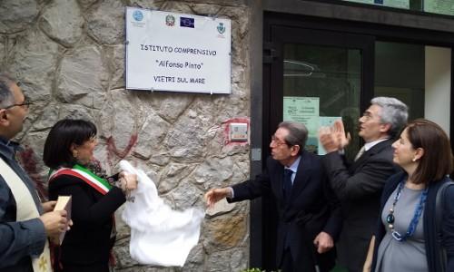 """Vietri, cerimonia d'apertura per la scuola media """"Pinto"""" - aSalerno.it"""