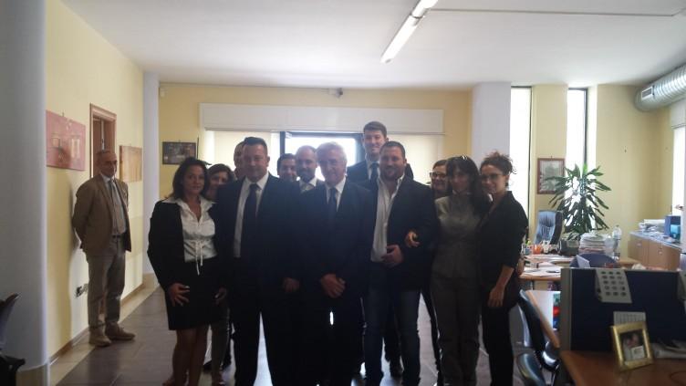 Il Sindaco Napoli fa visita alla sede di Salerno Trasporti - aSalerno.it