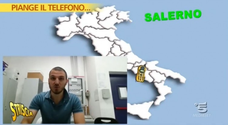 "VIDEO – Striscia sul ""caso Techmania"", Luca Abete a Battipaglia - aSalerno.it"