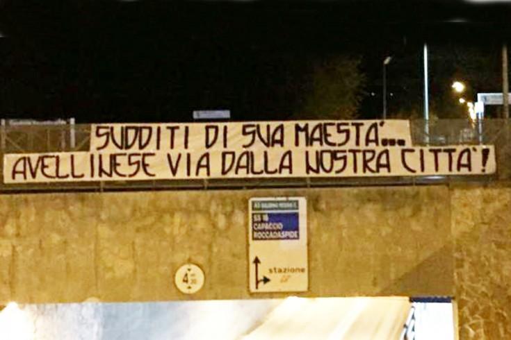 Avellino in ritiro punitivo a Capaccio, tifosi granata si fanno sentire - aSalerno.it