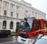 SAL - 20 10 2015 Salerno vigili del fuoco in tribunale Foto Tanopress