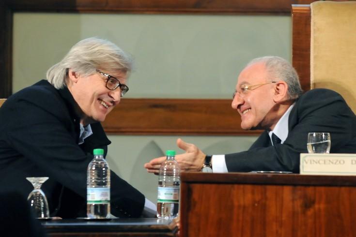 """Sgarbi difende De Luca su Rai 2: """"Ma che c…. di inchiesta è?"""" - aSalerno.it"""