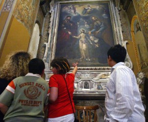 sal : salerno porte aperte,chiesa San Giorgio (foto tanopress)