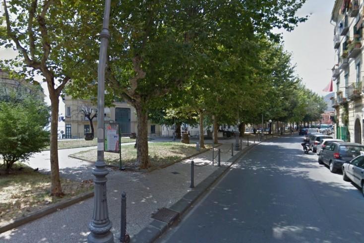 Un parco giochi per piazza Alario: la presentazione dei lavori - aSalerno.it