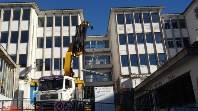 Edilizia scolastica, lavori di manutenzione in corso al Da Procida - aSalerno.it