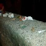siringhe droga tossicodipendenti salerno barbuti sangue