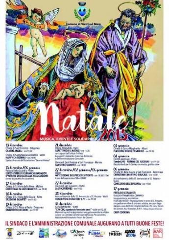 Aria di Natale a Vietri sul Mare, ecco il calendario degli eventi - aSalerno.it