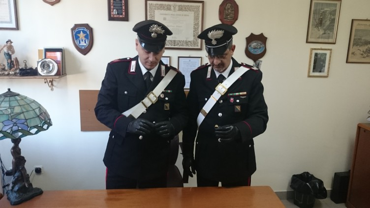 Policastro: giovane fermato,andava a Salerno per piazzare l'oro rubato - aSalerno.it