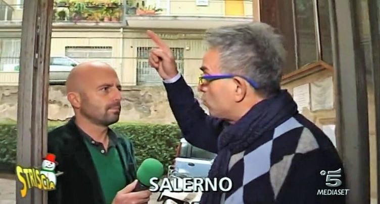 VIDEO-Striscia la Notizia a Salerno,uffici del Giudice di Pace a scuola - aSalerno.it