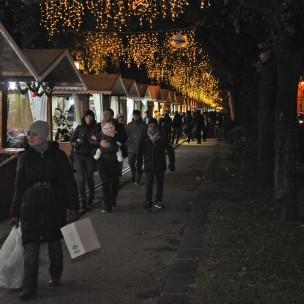 Salerno Lungomare Trieste. Inaugurazione Mercatini di Natale