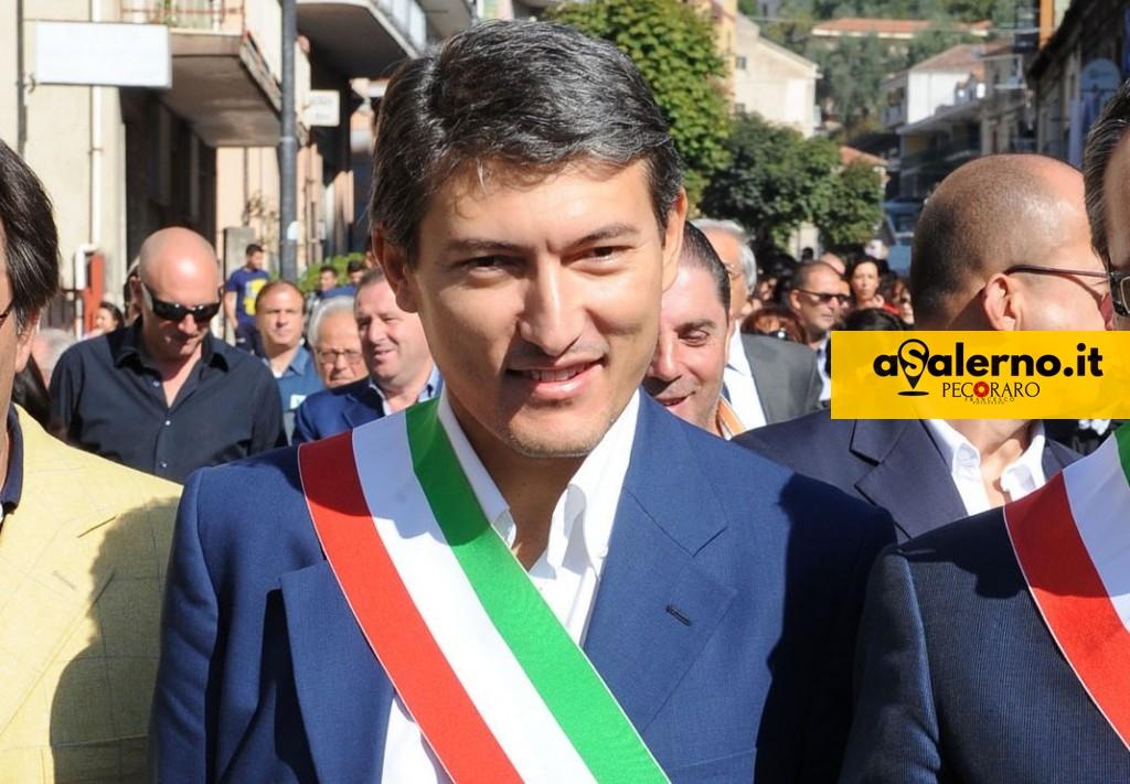 Nella foto tommaso pellegrino sindaco di sassano