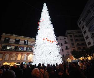 01 12 2012 Inaugurazione albero Piazza Portanova