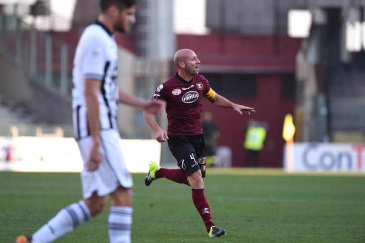 Capitan Pestrin sblocca la partita, Salernitana-Ascoli 1 a 0 - aSalerno.it