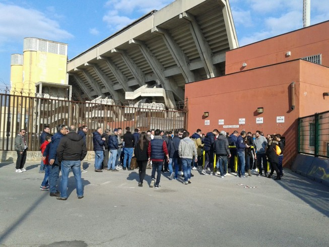Vigilia di Natale allo stadio, ancora file ai botteghini - aSalerno.it