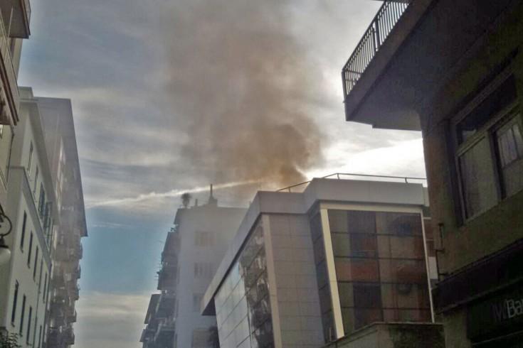 Incendio all'ex palazzo dell'Enel, esclusa la pista dolosa - aSalerno.it