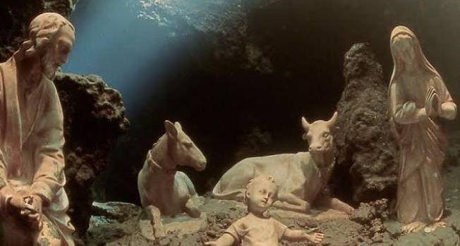 Presepi subacquei, il più celebre e prestigioso è nel Salernitano - aSalerno.it