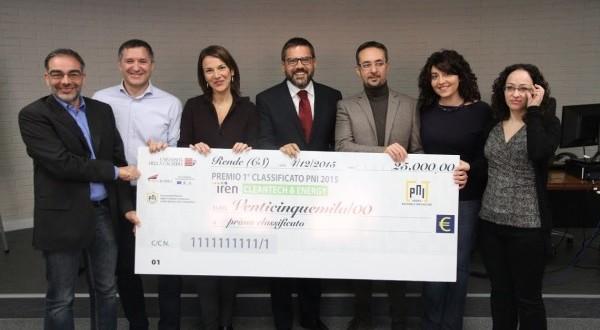 """""""SmartVase"""" dell'Unisa vince il Premio Nazionale dell'innovazione 2015 - aSalerno.it"""