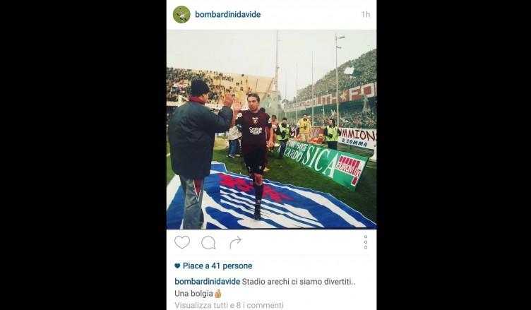 """Bomba social, nostalgia granata: """"Arechi, ci siamo divertiti"""" - aSalerno.it"""