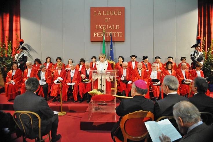 Inaugurazione dell'anno Giudiziario al Tribunale di Salerno - aSalerno.it