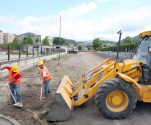 Sal : inizio lavori strada mariconda
