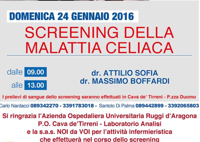 """Cava de' Tirreni, domenica lo """"Screening della Malattia Celiaca"""" - aSalerno.it"""
