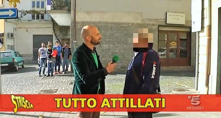 """VIDEO – Striscia la Notizia a Buccino per il guaritore """"palpeggiatore"""" - aSalerno.it"""