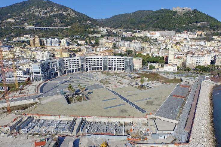 Piazza della Libertà completata prima di San Matteo - aSalerno.it