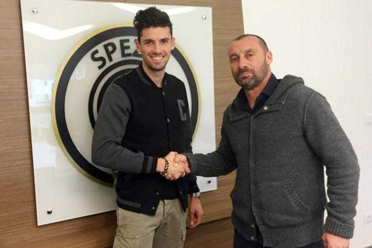FOTO – Ufficiale, Daniele Sciaudone nuovo centrocampista dello Spezia - aSalerno.it