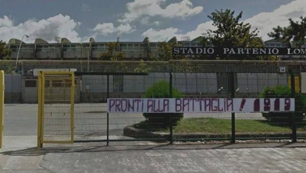 FOTO – Sul web striscione granata al Partenio, ma è un fotomontaggio - aSalerno.it