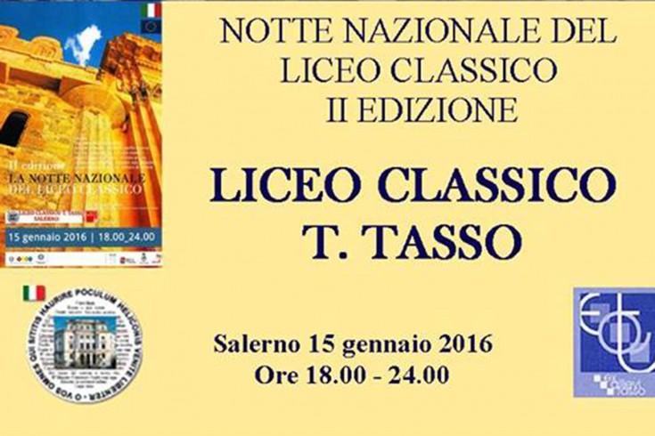 Al via stasera la notte bianca dei licei classici al Tasso - aSalerno.it