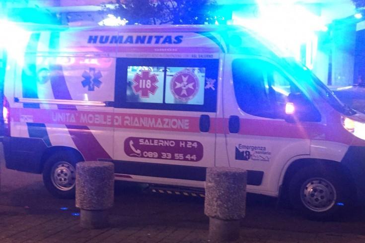 Salerno, incidente in piazza Luciani, ferita un'anziana 90enne - aSalerno.it