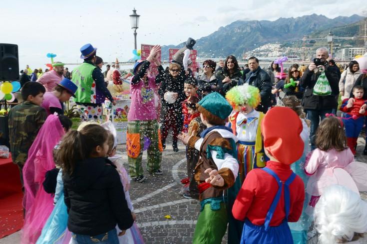 """Carnevale a Salerno, ecco """"la città è dei bambini"""": animazioni in ogni quartiere - aSalerno.it"""