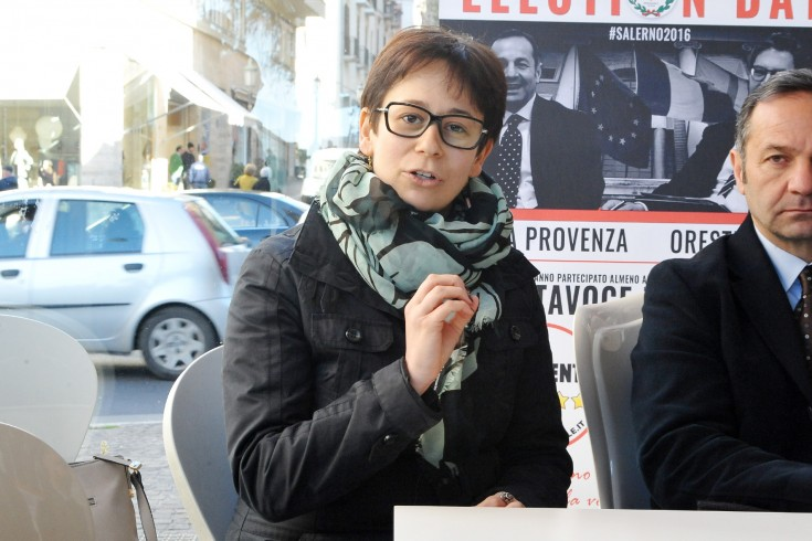 """Silvia Giordano: """"Fonderie Pisano, a difesa e tutela dei dipendenti"""" - aSalerno.it"""