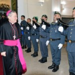 Ingresso  Comando Provinciale G. di F. Salerno