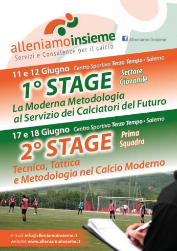 """Al via gli stage del 2016 di """"Alleniamo Insieme"""" - aSalerno.it"""