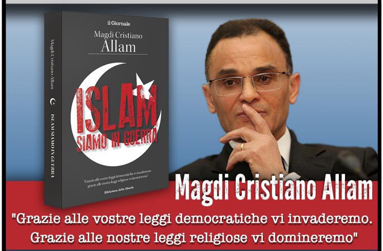 Anche a Salerno arriva Magdi Allam, presenta il suo libro al De Sanctis - aSalerno.it