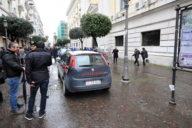 FOTO – Allarme bomba al Tribunale di Salerno - aSalerno.it