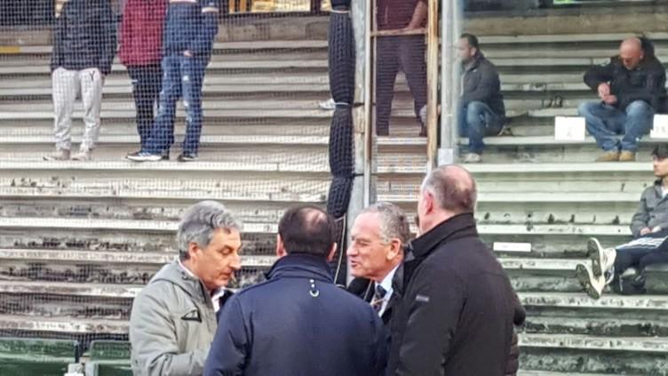 FOTO – Sorpresa all'Arechi, in visita anche l'ex arbitro Carlo Longhi - aSalerno.it