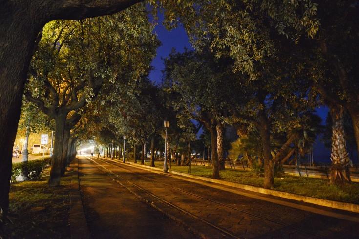 FOTO  – Blackout sul Lungomare cittadino - aSalerno.it