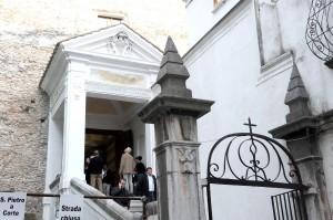 sal : inaugurazione Chiesa San Pietro A Corte (Foto Tanopress)